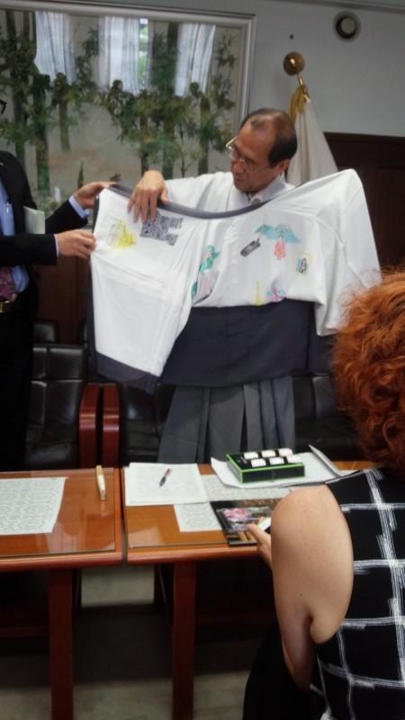 京都市長との会合